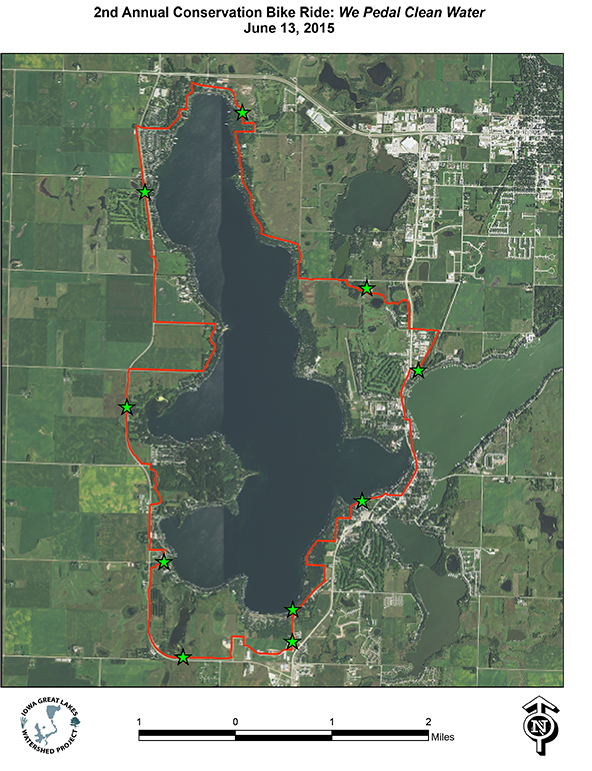 Conservation Bike Ride - Route