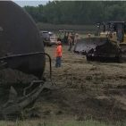 Dickinson County Landfill Accepting Oil Soaked Soil from Iowa's Largest Oil Spil