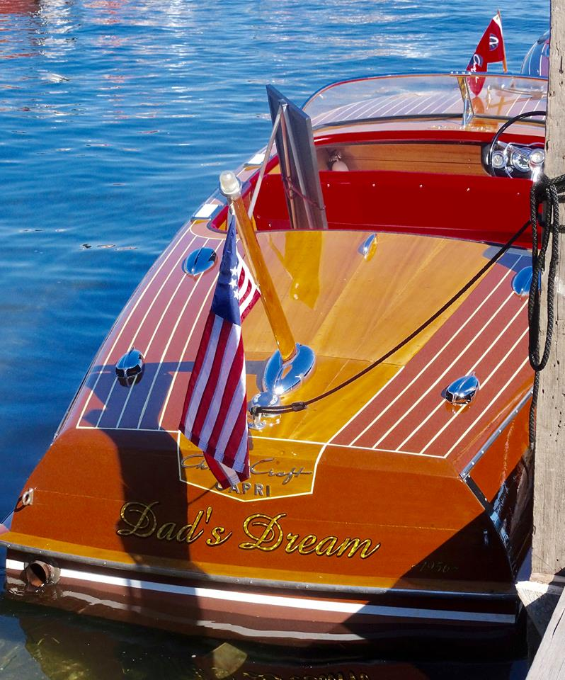 Antique Wooden Boat Show Iowa Great Lakes Association