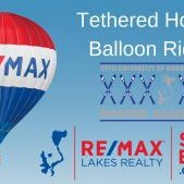 REMAX Lakes Realty's Hot Air Balloon Rides